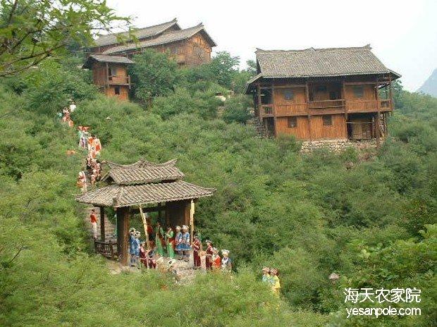 野三坡民族园风景区
