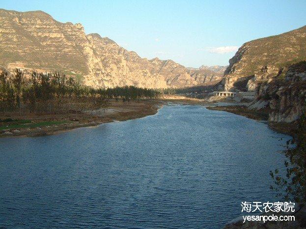 野三坡拒马河